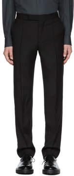 Yang Li Black Slim Tailored Trousers