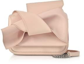 N°21 Mini Pink Leather Bow Shoulder Bag