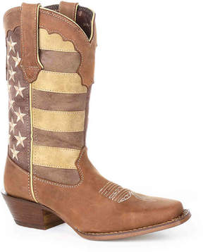 Durango Women's Flag Cowboy Boot