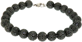 Artisan Women's Diamond Ball Bracelet