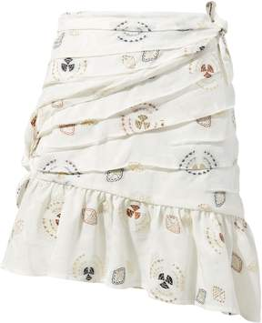 A.L.C. Avalon Fela Jacquard Skirt