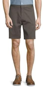 Saks Fifth Avenue BLACK Stretch Cotton Chino Shorts