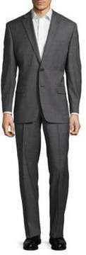 Lauren Ralph Lauren Wool Notch-Lapel Suit