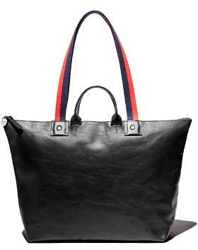 Clare Vivier Le Zip Sac Rustic Leather Tote