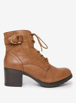 Dorothy Perkins Tan 'Monika' Heeled Ankle Boots