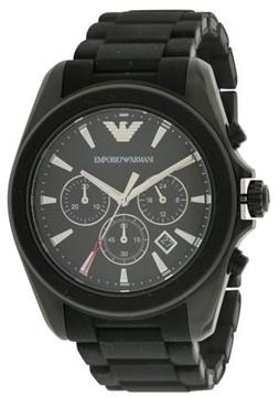 Giorgio Armani Emporio Sport Rubber Chronograph Mens Watch AR6092