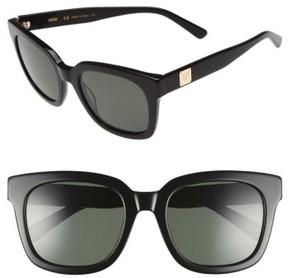 MCM Women's 54Mm Retro Sunglasses - Shiny Black