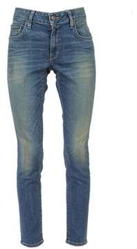 6397 No Brand Women's Blue Cotton Jeans.