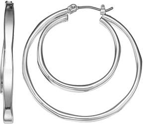 Dana Buchman Double Hoop Earrings