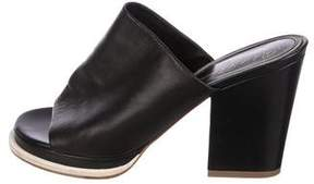 Robert Clergerie Astro Leather Mules