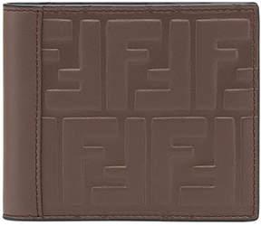 Fendi embossed FF wallet