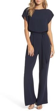 Eliza J Women's Cap Sleeve Jumpsuit