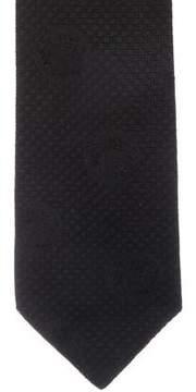 Gianni Versace Silk Jacquard Tie