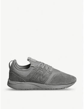New Balance 247 suede trainers