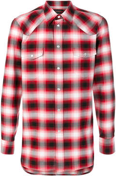 Marc Jacobs ombré checked shirt