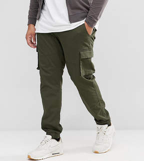 ONLY & SONS PLUS Cargo PANTS With Cuffed Hem