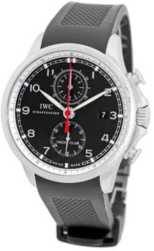 IWC Portuguese Yacht Club Stainless Steel Chronograph Strapwatch Mens Watch