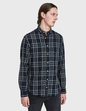 Gitman Brothers Spring Blackwatch Cotton/Linen Shirt