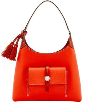Dooney & Bourke Cambridge Small Hobo Shoulder Bag - PERSIMMON - STYLE