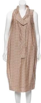 Bottega Veneta Printed Midi Dress
