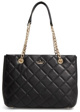 Kate Spade New York Emerson Place - Allis Leather Tote - Black