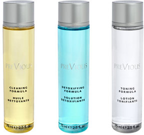 Beauty by Clinica Ivo Pitanguy PreVious Intense Cleansing Program, 3 x 75 mL