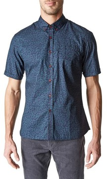 7 Diamonds Men's Radio Active Woven Shirt