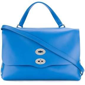 Zanellato double-lock studded bag