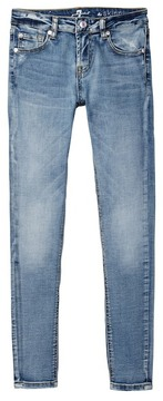 7 For All Mankind Fading Skinny Jean (Big Girls)