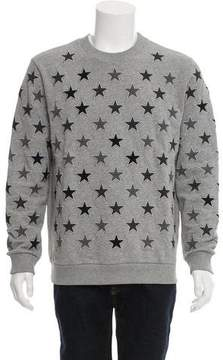 Givenchy 2016 Star-Embroidered Sweatshirt
