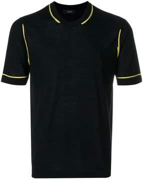 Joseph short-sleeved knit top