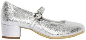 MonnaLisa 30mm Metallic Leather Heels