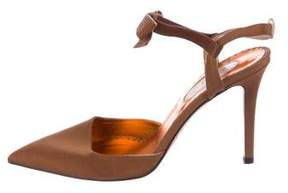 Sarah Jessica Parker Pointed Bow Pumps