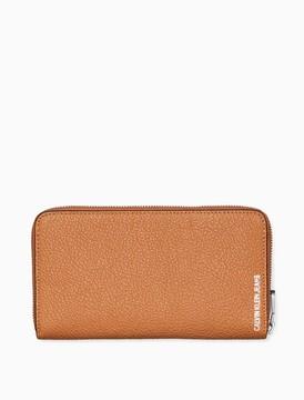 Calvin Klein leather large zip wallet