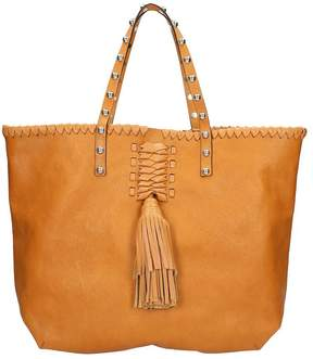 RED Valentino Light Brown Tote Bag