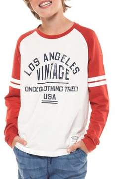 Dex Boy's Graphic Long-Sleeve Tee