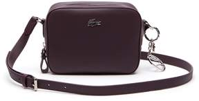 Lacoste Women's Daily Classic Coated Pique Canvas Square Crossover Bag