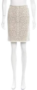 Alaia Patterned Knit Skirt w/ Tags