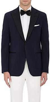 Isaia Men's Cotton-Blend One-Button Tuxedo Jacket