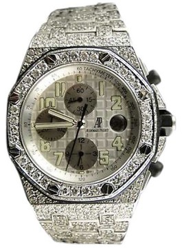 Audemars Piguet Royal Oak Offshore 23 Ct Diamond Watch