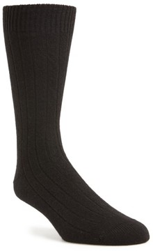 Pantherella Men's 'Waddington' Cashmere Blend Mid Calf Socks