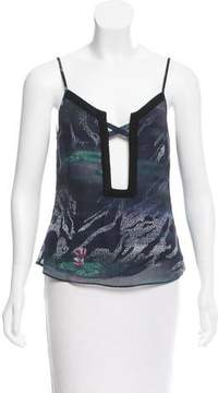 Timo Weiland Sleeveless Cutout Top