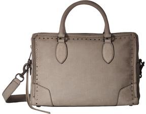 Rebecca Minkoff Moonwalking Satchel Handbags - ALMOND - STYLE