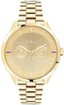 Furla Women's Metropolis Goldtone Dial Stainless Steel Watch