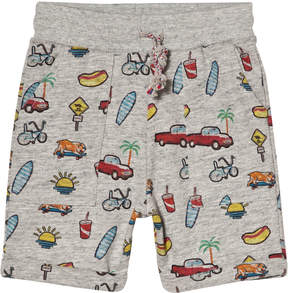 Emile et Ida Grey California Jersey Shorts