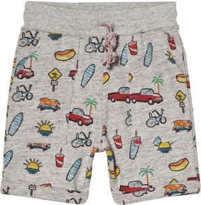 Emile et Ida Grey California Jersey Shorts
