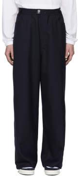 Sunnei Blue Wide-Leg Trousers