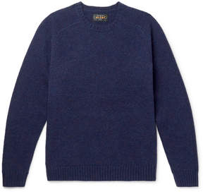 Beams Mélange Wool Sweater