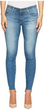 AG Adriano Goldschmied Leggings Ankle Uneven Hem in Emanate Women's Jeans