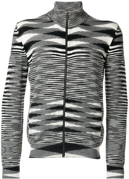 Missoni striped zip cardigan